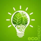 Concept favorable à l'environnement avec la puissance illustration stock