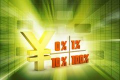 Concept finance percent Stock Photo