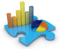 Concept of financial analysis Stock Photos