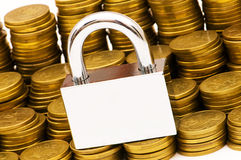 Concept of financial security Royalty Free Stock Images