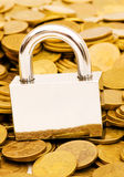 Concept of financial security Stock Photography