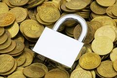 Concept of financial security Stock Photos