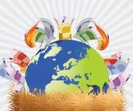concept financier illustration libre de droits