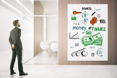 Concept financier d'accroissement Photos libres de droits