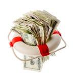 Concept financier d'aide Images libres de droits