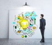 Concept financier d'idées Photographie stock libre de droits