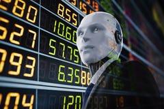 Concept financier de technologie illustration de vecteur