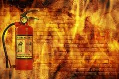 Concept fire Stock Photos