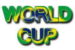 Concept footbal de coupe du monde Image stock