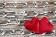 Concept fort d'amour Images libres de droits