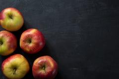 Concept frais de nourriture de pommes Photographie stock