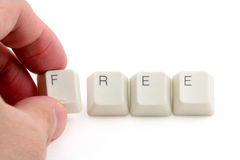 Concept of free Royalty Free Stock Photo