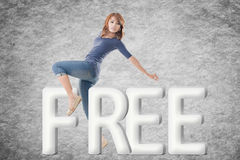 Concept of free Royalty Free Stock Photography