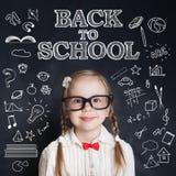 Concept futé d'éducation de créativité d'enfant image stock