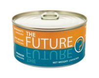 Concept of future. Tin can. Stock Photo