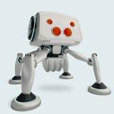 Concept futuriste de spiderbot Photos libres de droits