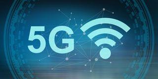 Concept 5g vector illustratie