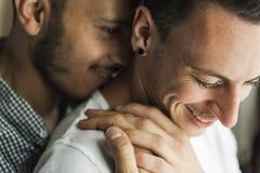 Concept gai de maison d'amour de couples Images libres de droits
