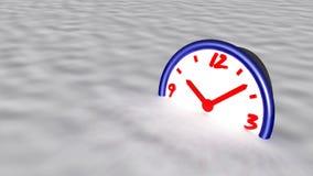 Concept gelé de temps Images stock