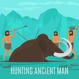 Concept gigantesque de chasse Photographie stock libre de droits