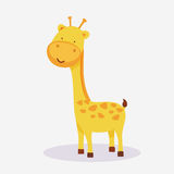Concept of a giraffe animal cartoon. Stock Images