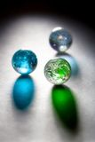 Concept glass planets Stock Image