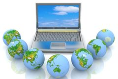 Concept of global business Stock Photography