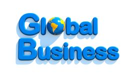Concept of global business Royalty Free Stock Photography