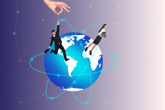 Concept of global business Royalty Free Stock Images