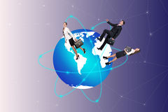 Concept of global business Royalty Free Stock Photo