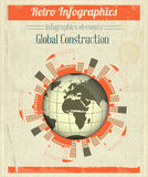 Concept of Global Construction Stock Image