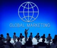 Concept global de Economics Corporation d'entreprise photos libres de droits