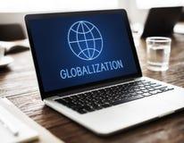 Concept global de Economics Corporation d'entreprise photo stock