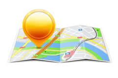 Concept global de navigation Images stock