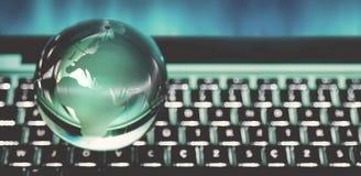 Concept global de sphère photos stock