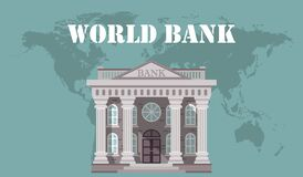 Concept of global foreign exchange market, banking system, banking trade, banking concept.