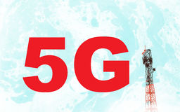 Concept for global 5G Royalty Free Stock Photography