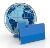 Concept of global network Stock Photo