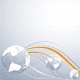Concept globale aansluting vector illustratie