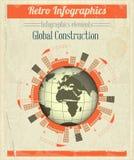 Concept Globale Bouw royalty-vrije illustratie