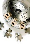 Concept globale mededeling Stock Afbeelding