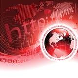 Concept Globale Mededeling stock illustratie