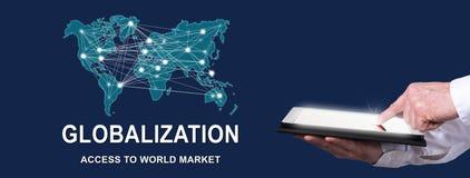 Concept Globalisering stock afbeelding