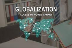 Concept Globalisering stock foto