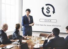 Concept graphique financier de sciences économiques commerciales financières photographie stock