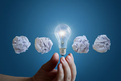 Concept of the great business idea. Stock Photography