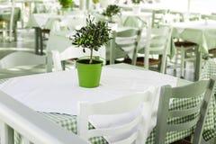 Concept grec de taverne photographie stock
