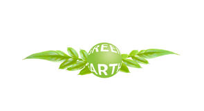 Concept green earth Royalty Free Stock Image