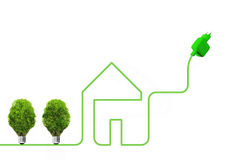 Concept of green energy Stock Image