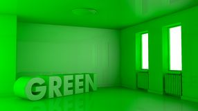 Concept of green home Royalty Free Stock Images
